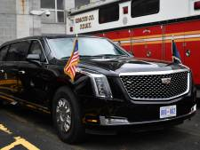 Trump heeft een nieuwe auto: 's werelds best beveiligde limousine