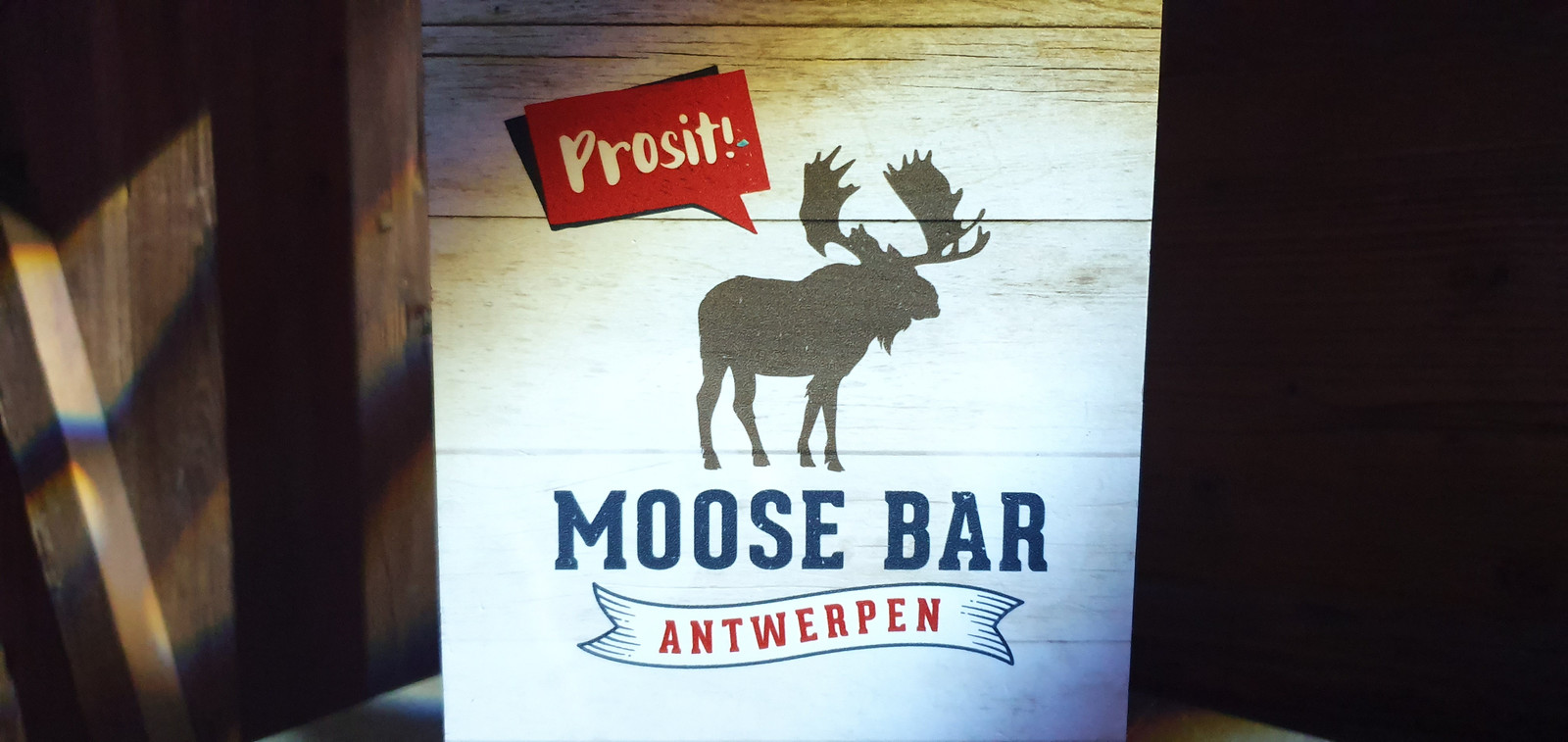 De Moose Bar in Antwerpen.
