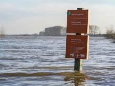 Staatsbosbeheer: 'Uiterwaarden tijdelijk afgesloten vanwege extreme hoeveelheden regen'