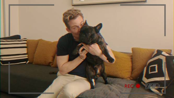 """Jani Kazaltzis over zijn hond Qozmo: """"Met een juweel van 400.000 euro op de cover van Weekend Knack"""""""