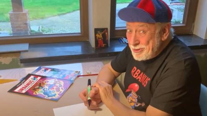 Urbanus leert je hoe je zíjn stripfiguur (en Amedee) moet tekenen