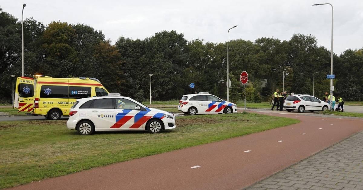 Fietser gewond bij aanrijding in Raalte.