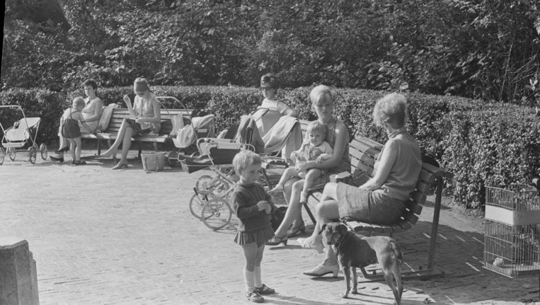 In het Vondelpark, is zoals altijd, van alles te doen voor kinderen Beeld anp