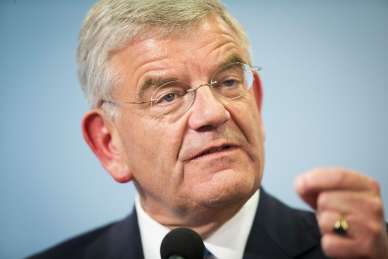 Jan van Zanen, burgemeester van Utrecht. Beeld anp