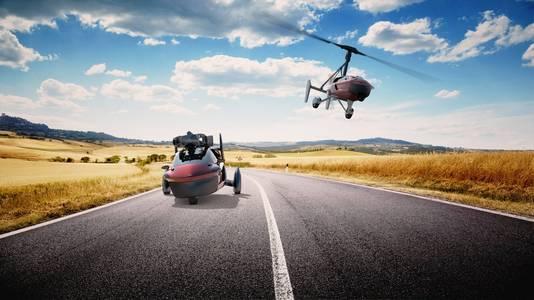 De vliegende auto van PAL-V.