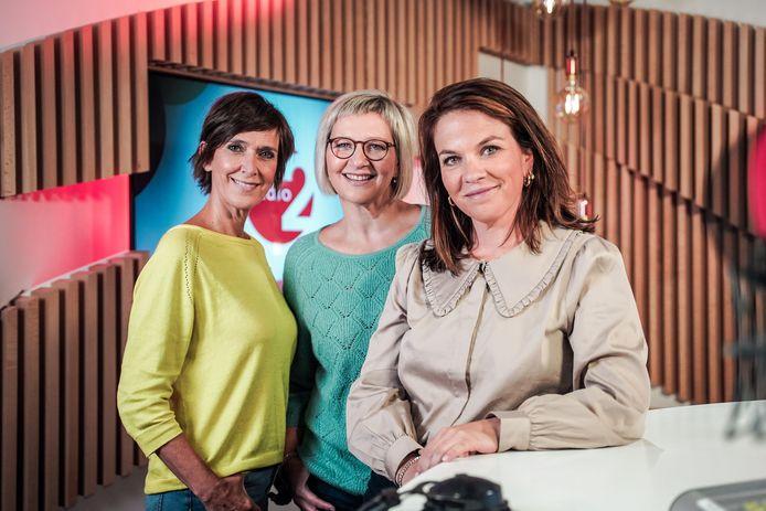 'De Madammen' op Radio 2 met Anja Daems, Cathérine Vandoorne en Siska Schoeters.