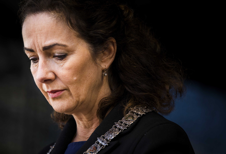 Burgemeester van Amsterdam, Femke Halsema. Beeld BELGAIMAGE