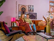 Svintha liet geen enkele muur wit in het huis van haar vriend