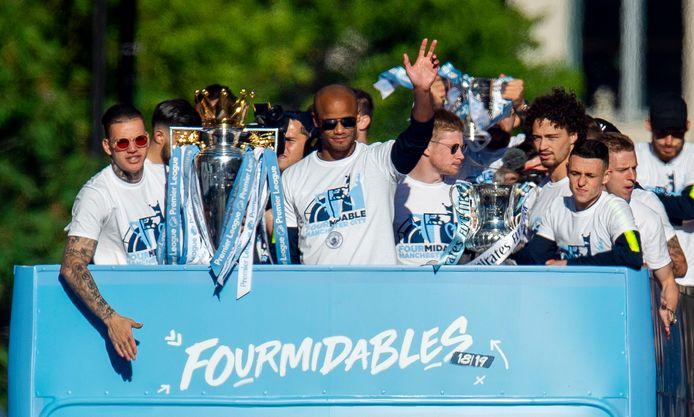Sinds de overname in 2008 door Sheikh Mansour heeft City vier keer de Premier League-titel veroverd.