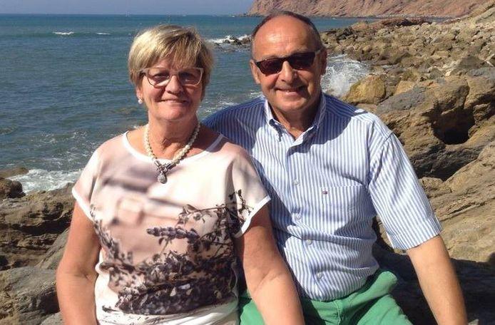 Liliane Feys (71) en Hendrik Vandromme (74) in betere tijden.