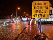 121 bestuurders onder invloed betrapt bij verkeerscontroles in april