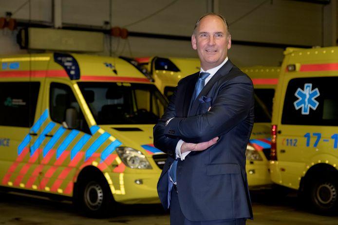 Arie Wijten, directeur Ambulancezorg: ,,Dit heeft veel te lang geduurd.''