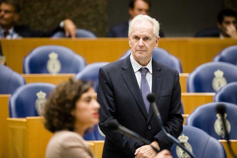 De Roon (PVV) wilde ook geen staatsgeheimen lezen. Beeld ANP