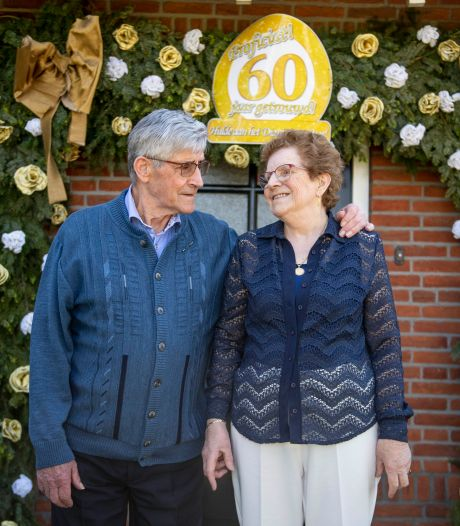 Harrie en Truus uit Langeveen 60 jaar getrouwd: 'Ons huwelijk moest noodgedwongen worden uitgesteld'