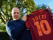 Robert Molenaar hield Francesco Totti van scoren af: 'Trots dat ik zijn shirt heb als relikwie'