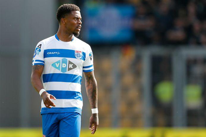 PEC-speler Kenneth Paal begint, net als woensdag tegen Sparta, ook zaterdagavond tegen FC Utrecht op de bank.