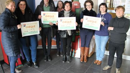Heilig-Hartschool schenkt cheques aan verschillende goede doelen