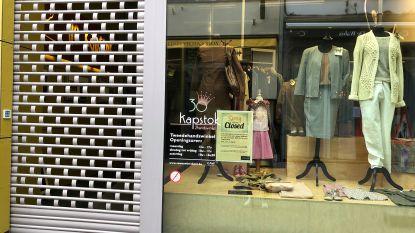 Heel wat klerenwinkels in Leuven sluiten uit eigen beweging de deuren