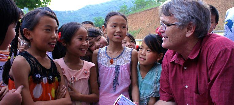 'Ik denk dat China een verzekering moet nemen door in haar kinderen te investeren', zegt ontwikkelingseconoomScott Rozelle. Beeld Eefje Rammeloo