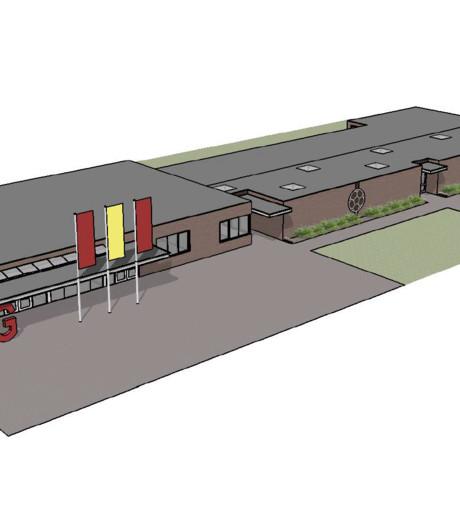Kleedlokalen Liempds sportpark De Roode Bleek voor half miljoen verbouwd