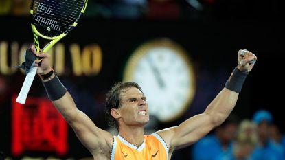 Nadal maatje te groot voor Tiafoe, 'Killer van Federer' volgende klus in Melbourne