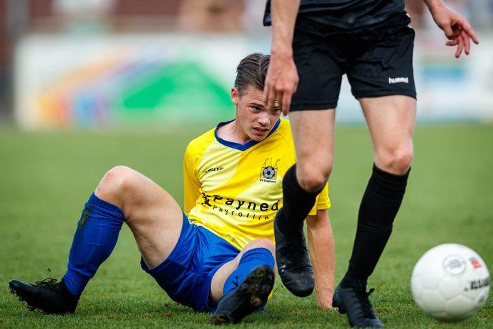 Daimen Schra staat zaterdag met Staphorst voor het eerst sinds negen maanden weer op het veld voor een echte wedstrijd.