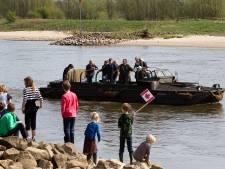 Herdenking oversteek van IJssel bij Gorssel/Wilp door geallieerden