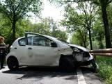 Automobiliste lichtgewond bij eenzijdig ongeval in Oosterhout