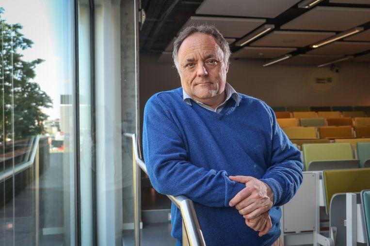 Viroloog Marc Van Ranst  Beeld Photo News - Pieter-Jan Vanstockstraeten