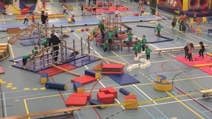 Schoolsportdagen in Sporthal De Vruen