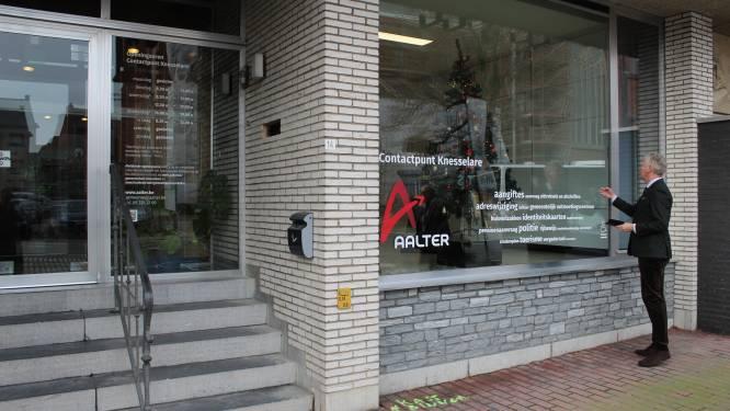 """Contactpunt Knesselare blijft voorlopig dicht: """"Personeel nodig voor strijd tegen corona"""""""