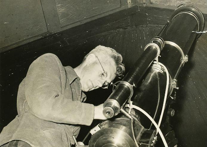 Een jonge Kees de Jager in 1953.