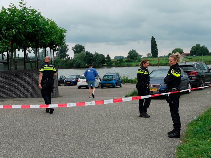 Het explosief werd gevonden aan de Veerweg