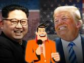 Wie zei wat? Donald Trump of Kim Jong-un?