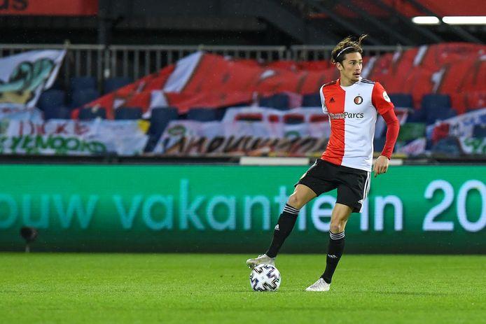 Feyenoord-middenvelder Jordy Wehrmann.