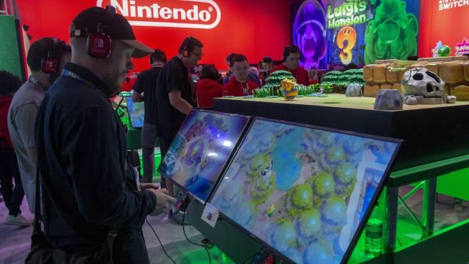 Nintendo ziet nieuwe records in verkoop Switch-console en games