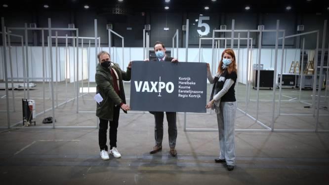 Opbouw VAXPO gestart, vaccinatie van tot 70.000 inwoners loopt van begin maart tot eind augustus