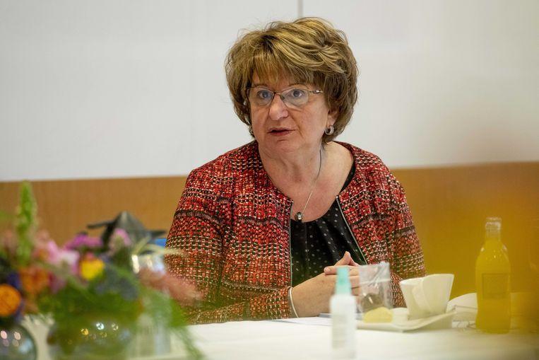 SER-voorzitter Mariëtte Hamer. Beeld ANP