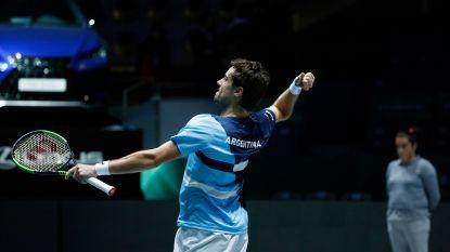 Argentinië opent Davis Cup met vlotte winst tegen Chili - Nederland verliest van Kazachstan