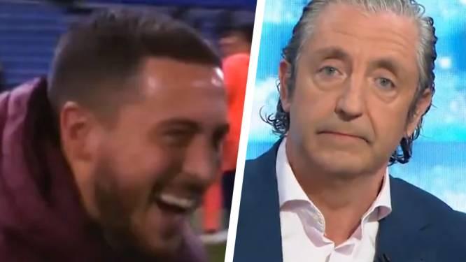 """Spaanse tv-presentator die snoeihard uithaalde apprecieert excuses van Eden Hazard: """"Je hebt je tenminste verontschuldigd"""""""