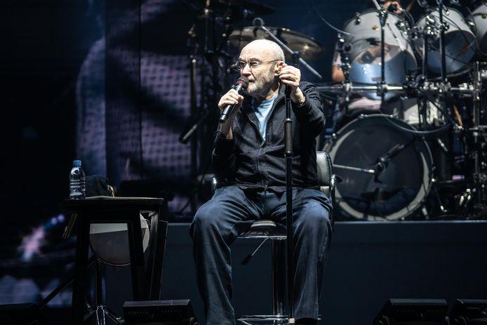 Phil Collins à la Leeds Arena le 28 septembre dernier.