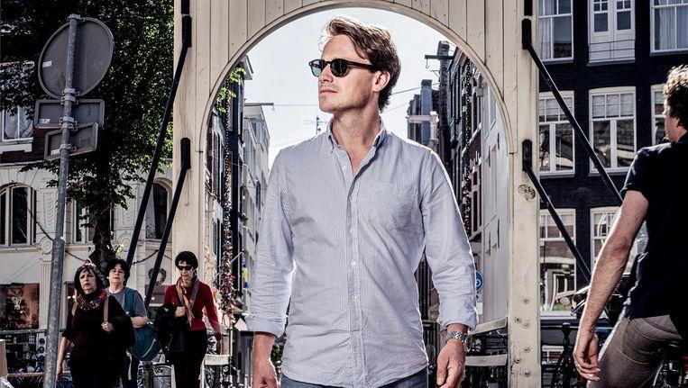 Sander Schimmelpenninck: 'Ik ben een hopeloze millennial, ik kloot maar wat aan.' Beeld Martin Dijkstra