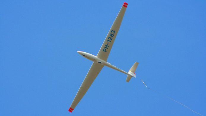 Archiefbeeld. Dit is niet het bewuste zweefvliegtuig.