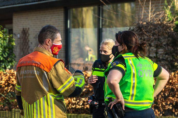 Gaslucht geroken in woning in Raamsdonk.