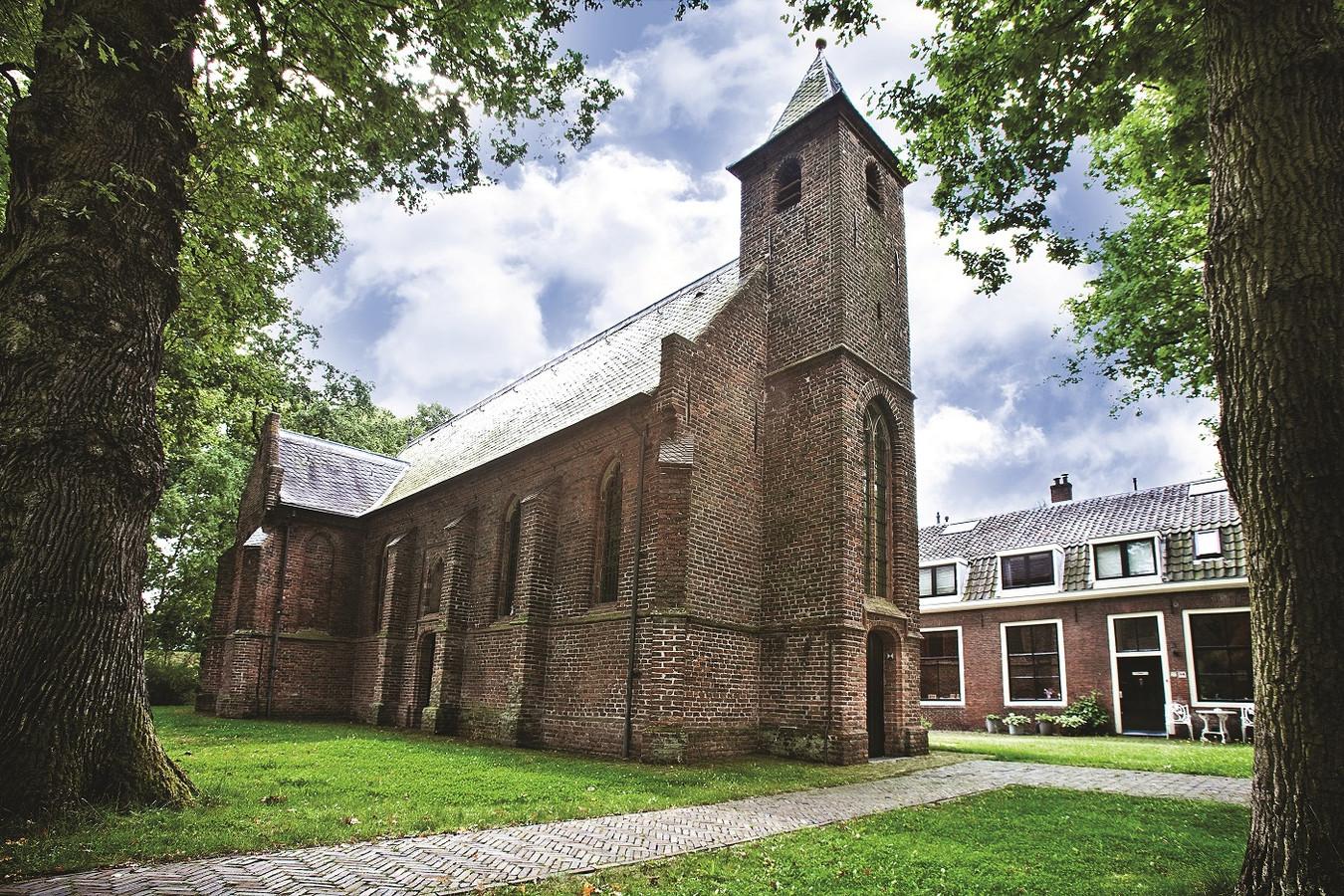 Kerkje op Fort Blauwkapel.