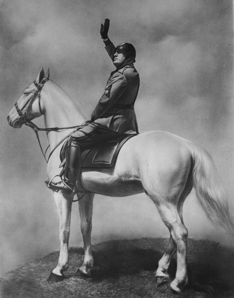 De Italiaanse fascistische dictator Benito Mussolini (1883 - 1945). Beeld Roger Viollet via Getty Images
