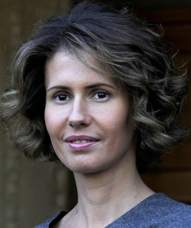 Asma Assad Beeld AFP