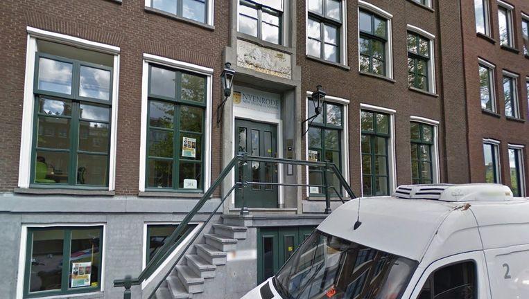 De vestiging van Nyenrode New Business School op de Keizersgracht. Beeld Google Streetview