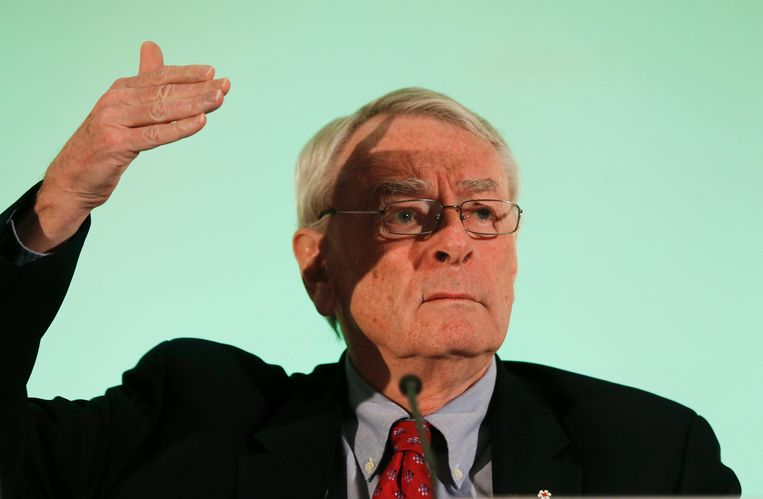 Dick Pound, voormalig voorzitter van het Wereldantidopingagentschap. Beeld REUTERS