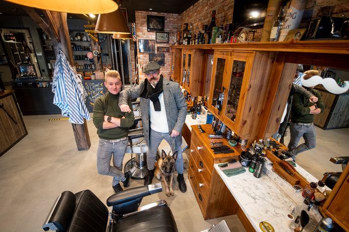 Joop en zoon Matt Kalkman